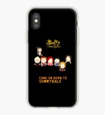Vinilo o funda para iPhone Buffy the Vampire Slayer como South Park