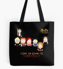 Buffy the Vampire Slayer as South Park Tote Bag