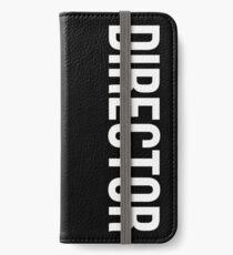 Director iPhone Wallet/Case/Skin