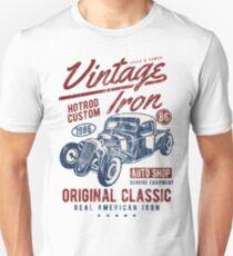 HOTROD - Vintage Iron Hot Rod Shirt Motiv Unisex T-Shirt