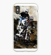 Vinilo o funda para iPhone Motocross Dirt Bikers