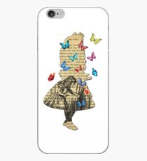 Alice In Wonderland - Vintage Wonderland Book iPhone Case