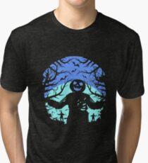 Zombie Halloween Love Zombie T-Shirt Tri-blend T-Shirt