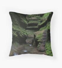 Rocky Hollow #3 Throw Pillow