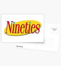 Nineties: Seinfeld Style Postcards