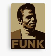 James Brown: FUNK Canvas Print
