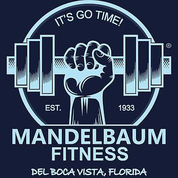 Seinfeld - Mandelbaum Fitness T-Shirt (Dark) by DuckSkinAngel