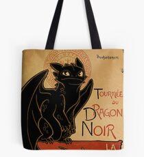 Le Dragon Noir Tote Bag