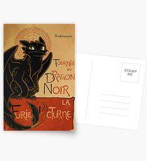 Le Dragon Noir Postcards