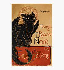 Le Dragon Noir Photographic Print