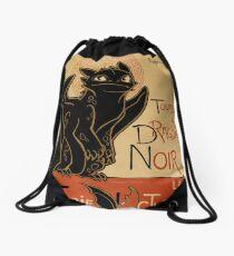 Le Dragon Noir Drawstring Bag