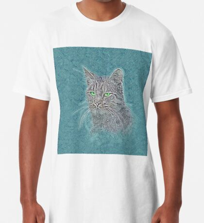 Felis silvestris catus Long T-Shirt