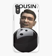 GTA 4 - Roman lets go bowling - Sticker iPhone Case/Skin