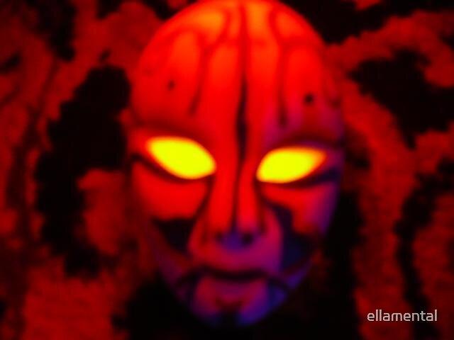 Demon Scheming by ellamental