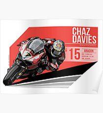 Chaz Davies - 2015 Aragon Poster