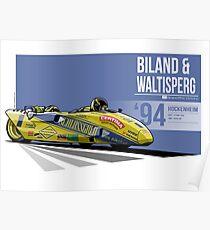 Rolf Biland & Kurt Waltisperg - 1994 Hockenheim Poster