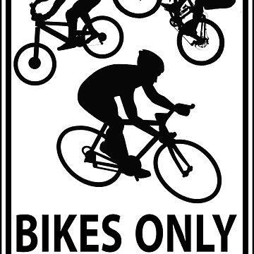 Bikes Only (Transparent) by Herandi