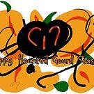 Happy Haunted Gourd Season by JazmynMarie