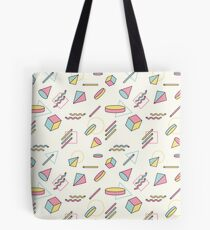 The 90's (Shapes) Tote Bag