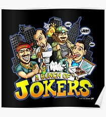 A Bunch Of Jokers -  jokers Poster