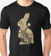 Alice In Wonderland - White Rabbit - Vintage Wonderland Book T-Shirt