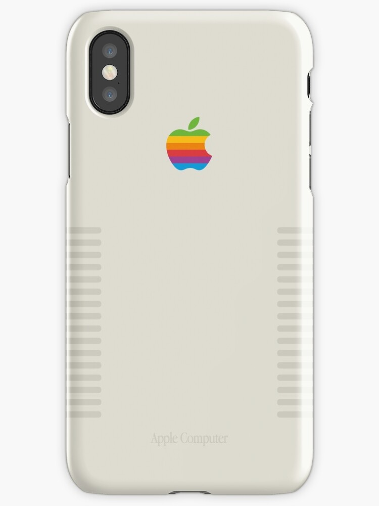 Retro Edition Classic Mac iPhone & iPad Case by nark