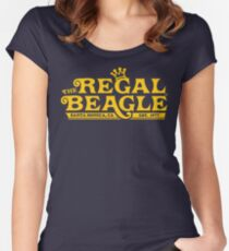The Regal Beagle - Three's Company T-Shirt Women's Fitted Scoop T-Shirt