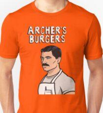 ARCHER'S BURGERS Slim Fit T-Shirt