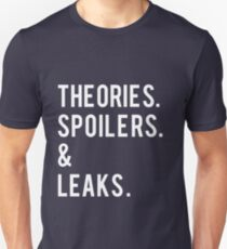 Theories, Spoilers & Leaks T-Shirt Unisex T-Shirt