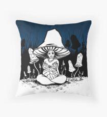 Inktober 2017 - Day 15 - Mushroom Woman Floor Pillow