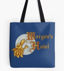 Worgen's Howl Logo and Name Gear Tote Bag