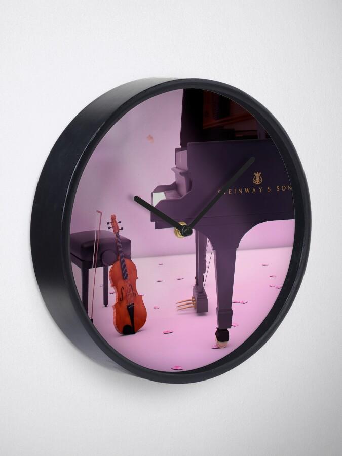 Alternative Ansicht von Klavier & Violine eine Liebesgeschichte - Deine Lüge im April Uhr