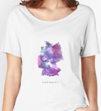 Germany Map Women's Relaxed Fit T-Shirt