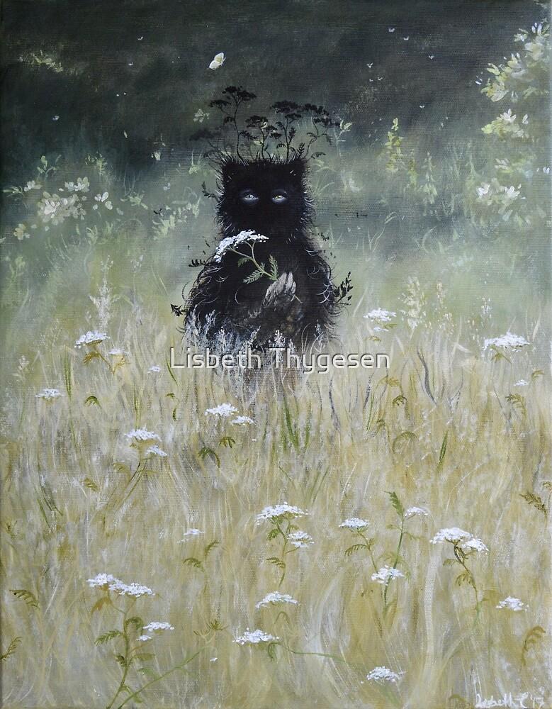 Nature Spirit - Painting by Lisbeth Thygesen
