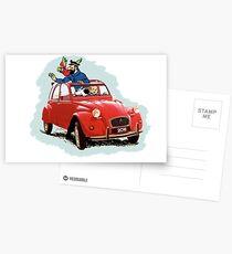 Tintin Postcards