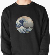Hokusai wave Pullover