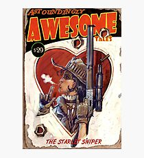 Astoundingly Awesome Tales: The Starlet Sniper Fallout 4 Poster Photographic Print