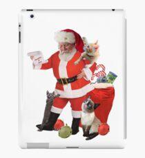 Vinilo o funda para iPad Los gatitos que miran Santa Checking son una lista de gatitos de Nought o Niza
