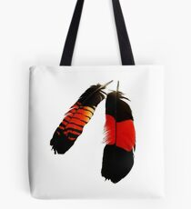 Red Tails Tote Bag