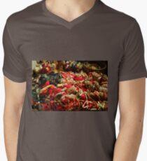 Ribbons and Hearts - Aix-en-Provence Market Mens V-Neck T-Shirt