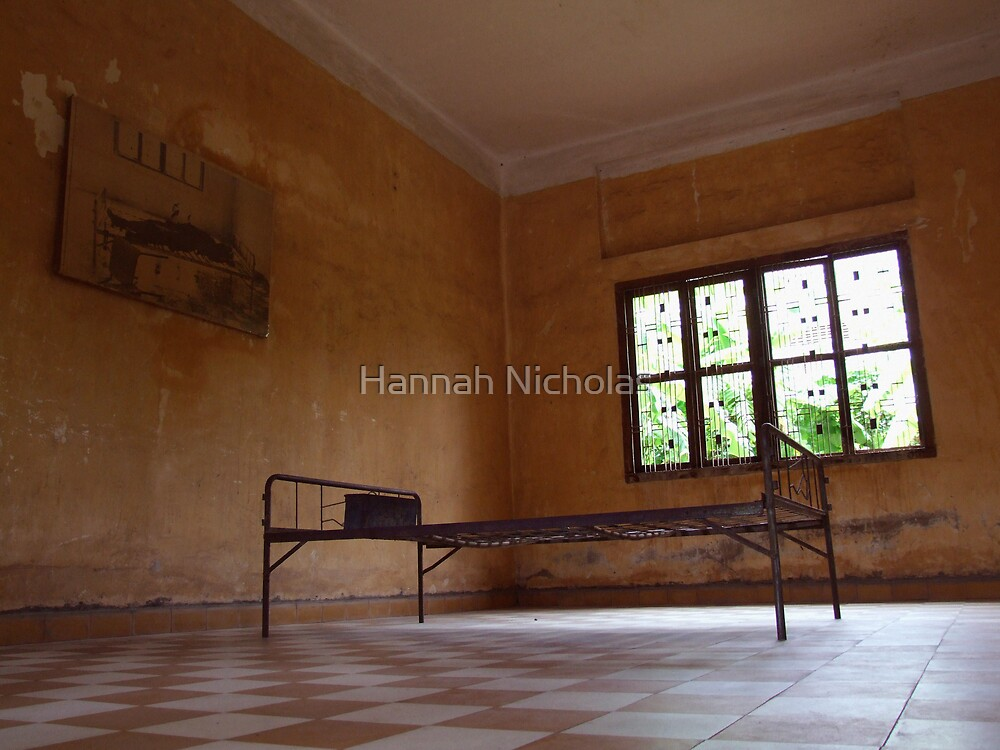 S21, Cambodia (Interrogation Cell) by Hannah Nicholas