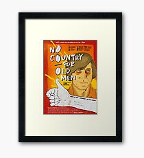 No country for old men Framed Print
