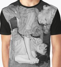 RETRO CATFIGHT Graphic T-Shirt