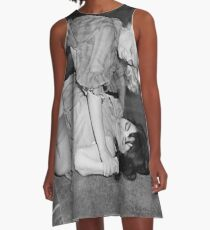 RETRO CATFIGHT A-Line Dress
