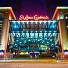 Saint Louis Cardinals Busch Stadium by Gregory Ballos