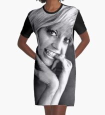 YOUNG GOLDIE HAWN Graphic T-Shirt Dress