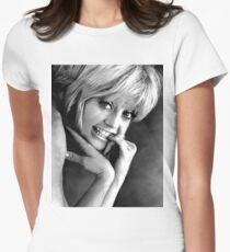 YOUNG GOLDIE HAWN Women's Fitted T-Shirt