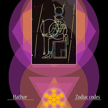 Hathor (2nd sign) by InfinityCodes