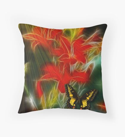 LILY WISP Throw Pillow