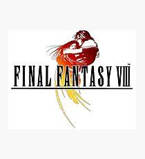 -FINAL FANTASY- Final Fantasy VIII Photographic Print
